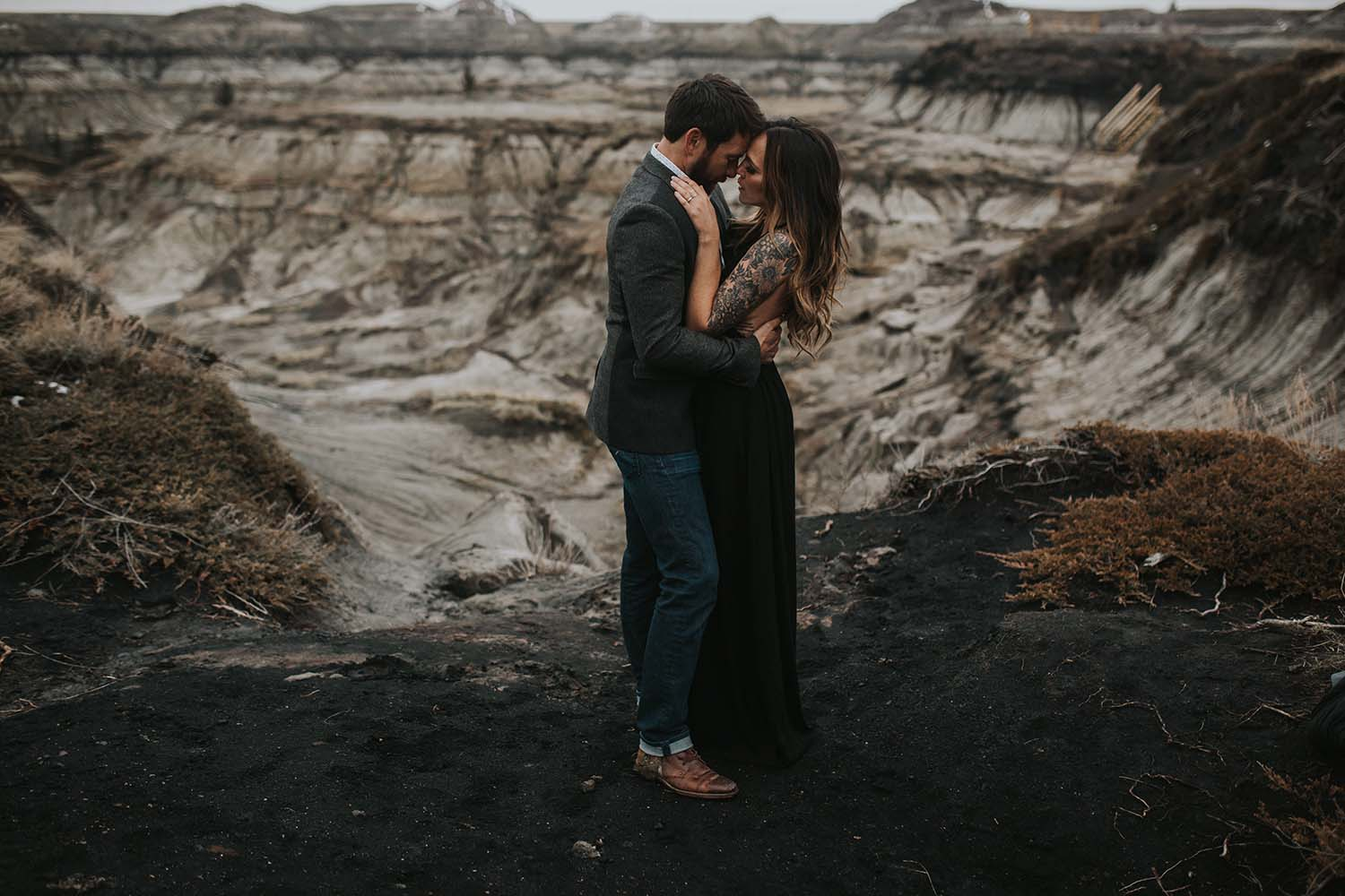 Dana & Sam, Badlands Workshop, Drumheller Alberta by Myrtle and Moss Photography, Victoria BC Photographer, www.myrtleandmossphotography.com