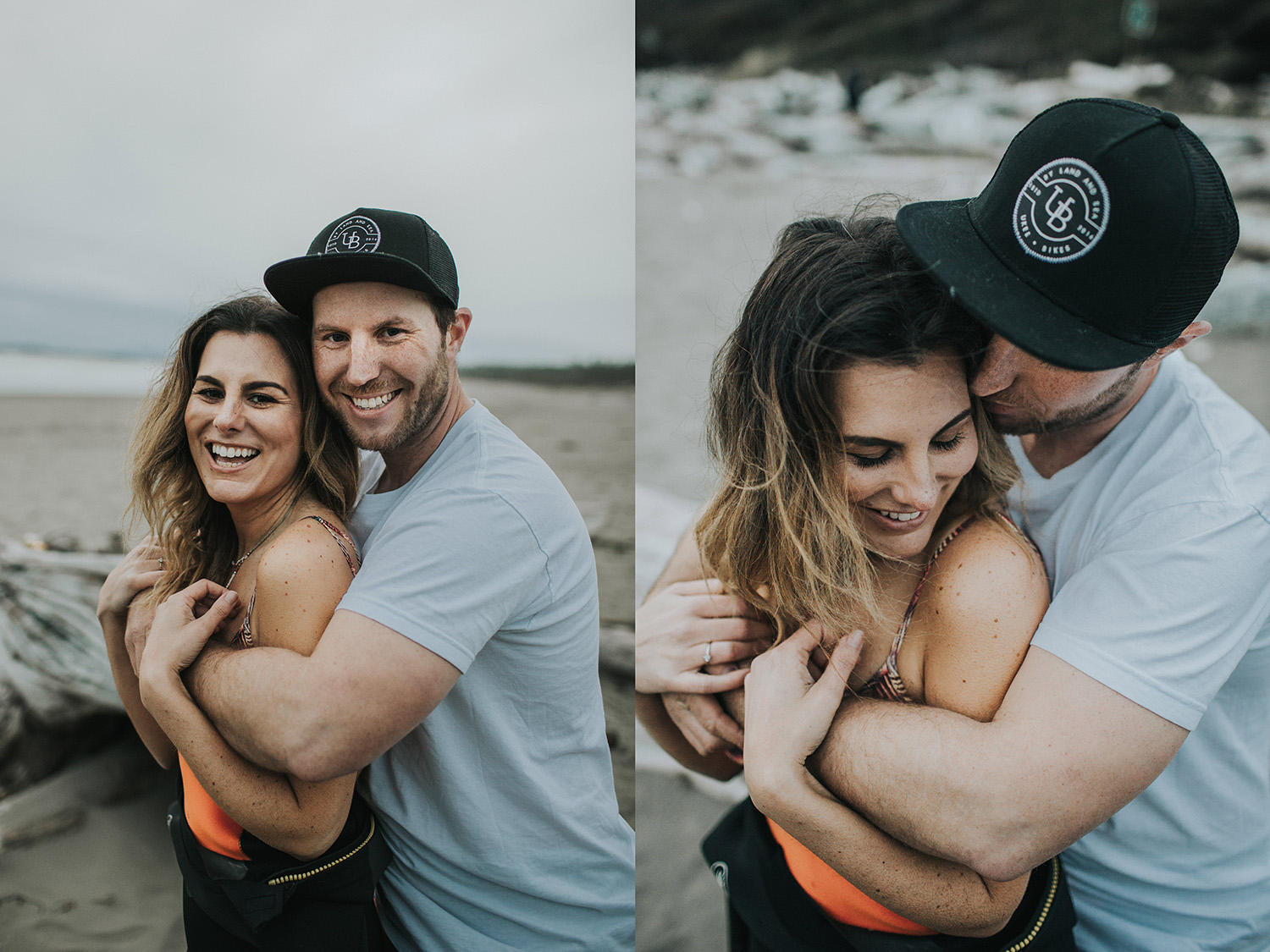 Terra + Louis Tofino Surf Couples Session, Myrtle & Moss Photography Inpired Workshop