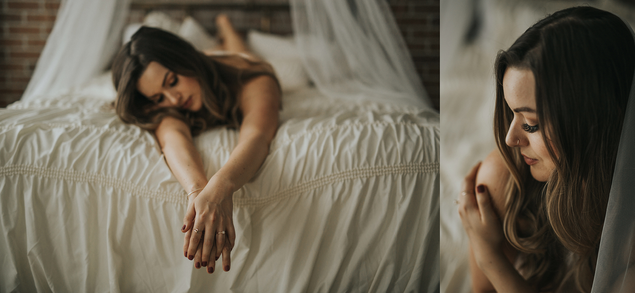 Studio Boudoir Session, Myrtle and Moss Photography, Victoria Boudoir Photography