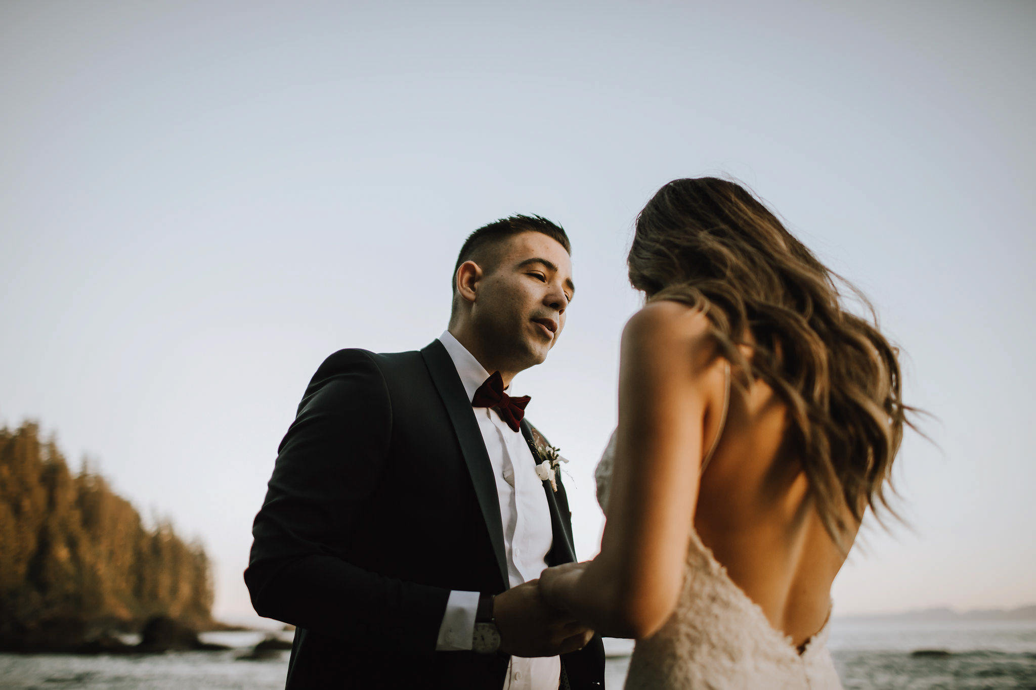 Myrtle and Moss Photography, Victoria Wedding Photographer, Jaclyn + Dustin Sombrio Beach Elopement