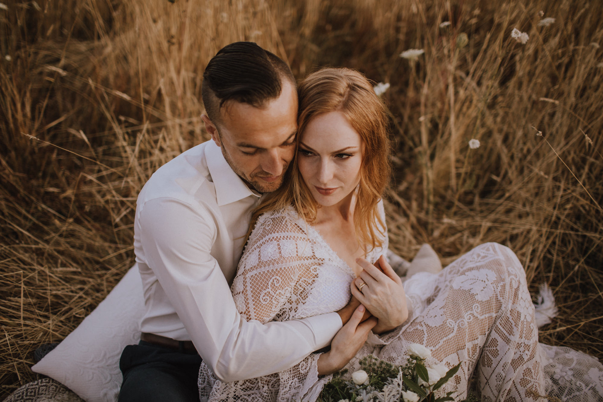Myrtle and Moss Photography Styled Sunset Elopement / wedding, Victoria BC, Victoria Wedding Photographer