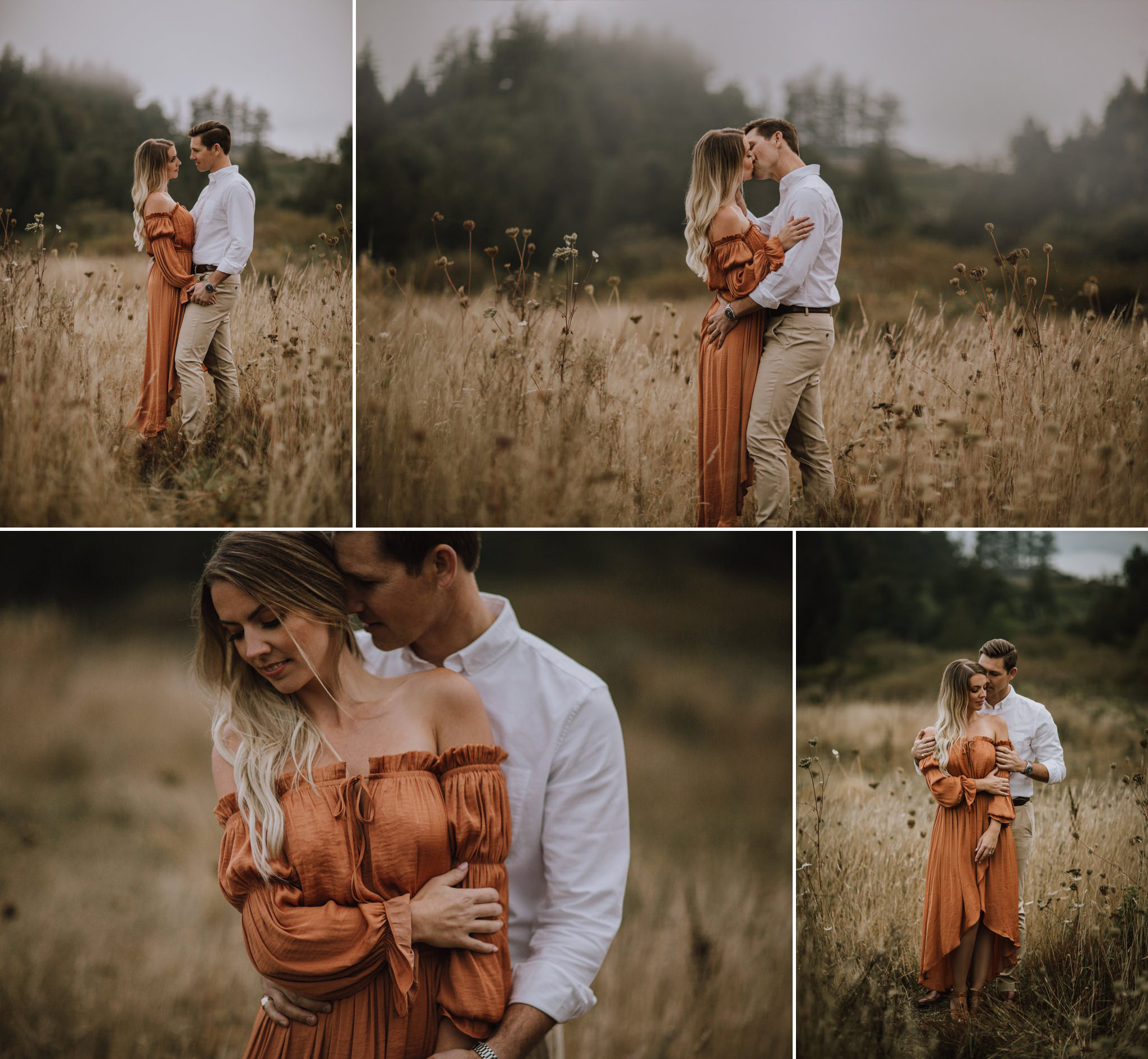 Moody Victoria Engagement Session by Myrtle and Moss Photography, Victoria BC Wedding Photographer